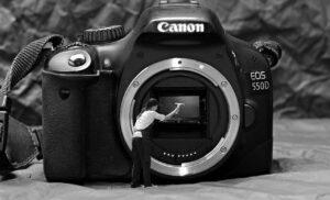 Pulizia di una fotocamere